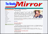 Weekly Mirror